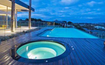piscina de acrílico