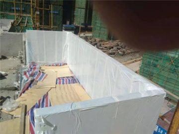 Piscina de acrílico personalizada con cubierta de 90mm